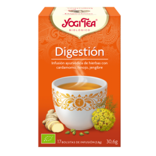 YOGI TEA BIOLOGICO DIGESTION 17 BOLSITAS