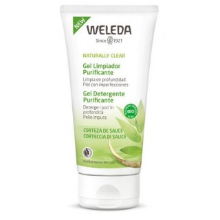 WELEDA NATURALLY CLEAR GEL LIMPIADOR PURIFICANTE 100 ML