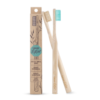 CEPILLO DENTAL ADULTO LACER NATUR BAMBU MEDIO