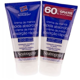 NEUTROGENA MANOS RAPIDA ABSORCION 75 ML 2 U