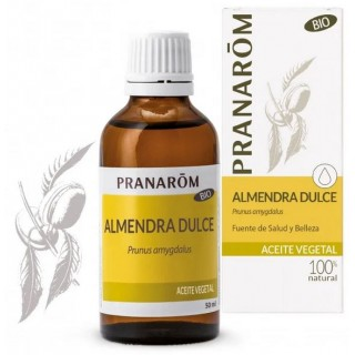 PRANAROM ACEITE VEGETAL ALMENDRA DULCE BIO 50 ML