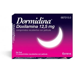 DORMIDINA 12,5 mg 14 COMPRIMIDOS RECUBIERTOS