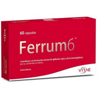 FERRUM 6 60 CAPSULAS