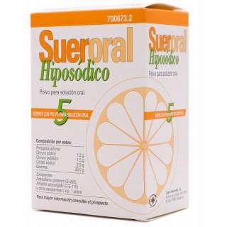 SUERORAL HIPOSODICO 5 SOBRES POLVO PARA SOLUCION ORAL