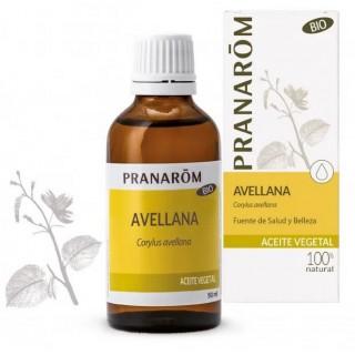 PRANAROM ACEITE VEGETAL DE AVELLANA BIO 50 ML