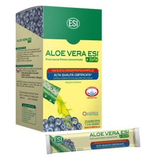 ALOE VERA ZUMO FORTE MIRTILO POCKET DRINK 24 SOBRES