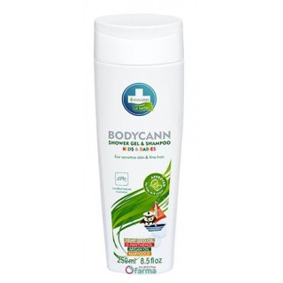 BODYCANN KIDS CHAMPU Y GEL 2 EN 1 250 ML