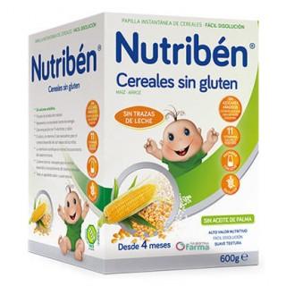 NUTRIBEN SIN GLUTEN 600 G