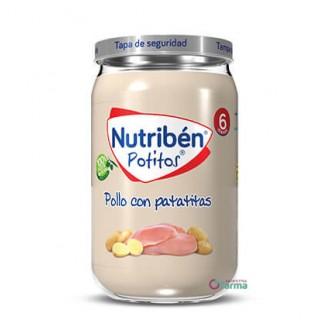 NUTRIBEN POTITO POLLO CON PATATITAS 235 G