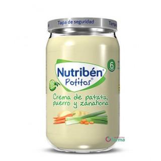 NUTRIBEN POTITO CREMA DE PATATA PUERRO Y ZANAHORIA 235 G