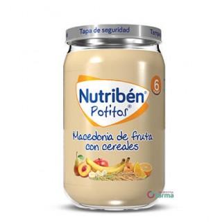 NUTRIBEN POTITO MACEDONIA DE FRUTA CON CEREALES 235 G