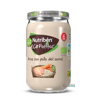 NUTRIBEN ECOPOTITO POLLO DEL CORRAL CON ARROZ 235 G