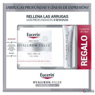 EUCERIN ANTIEDAD HYALURON-FILLER DIA FP15 PIEL SECA 50 ML