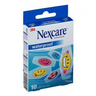 3M NEXCARE WATERPROOF TATOO 10 TIRAS SURTIDAS
