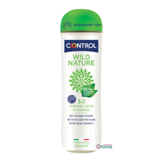 CONTROL WILD NATURE 3 IN 1 GEL DE MASAJE HIDRATANTE 200 ML