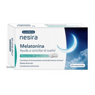 ACOFARMA NESIRA MELATONINA 1.95 MG 60 COMPRIMIDOS