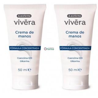 ACOFARMA VIVERA DUPLO CREMA DE MANOS CONCENTRADA 2 X 50 ML