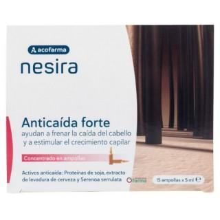 ACOFARMA NESIRA AMPOLLAS ANTICAIDA FORTE 5 ML 15 AMPOLLAS