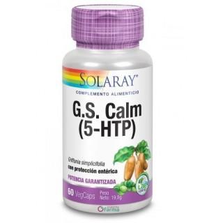 SOLARAY G.S. CALM (5-HTP) 60 CAPSULAS VEGETALES CON PROTECCION ENTERICA