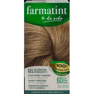 FARMATINT 6D TONO RUBIO OSCURO DORADO 135 ML