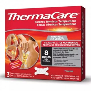 THERMACARE PARCHES TERMICOS ADAPTABLES 3 PARCHES