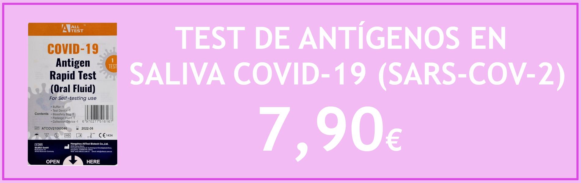 Test Antígenos COVID-19 SALIVA